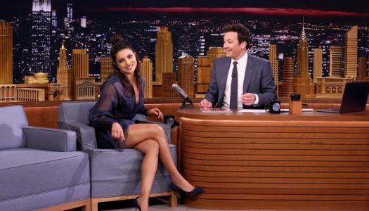 "Priyanka Chopra Appears, Plays Sculptionary On Jimmy Fallon's ""Tonight Show"" (Watch)"