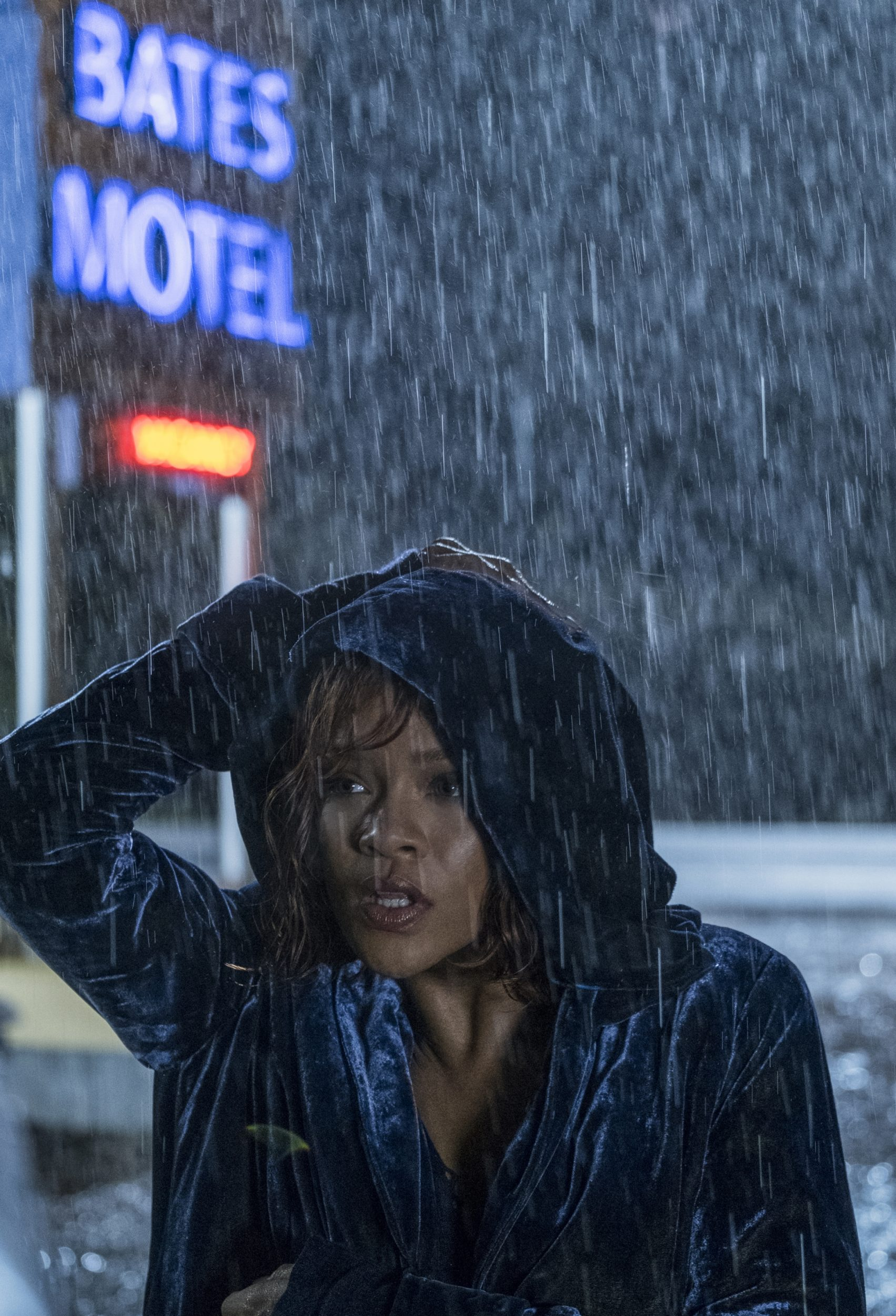 """MARION Rihanna stars as Marion Crane in A&E's """"Bates Motel"""" Photo by Cate Cameron Copyright 2017"""