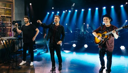 "Take That Performs ""Giants"" On Monday's ""Late Late Show With James Corden"" (Watch Now)"