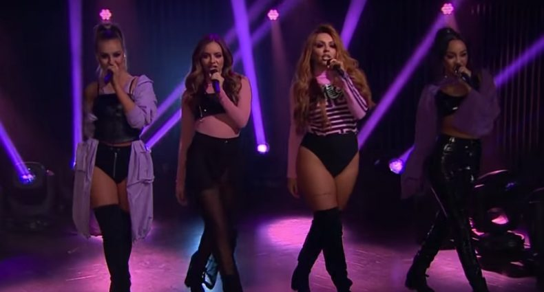 Little Mix performs Touch [CBS]