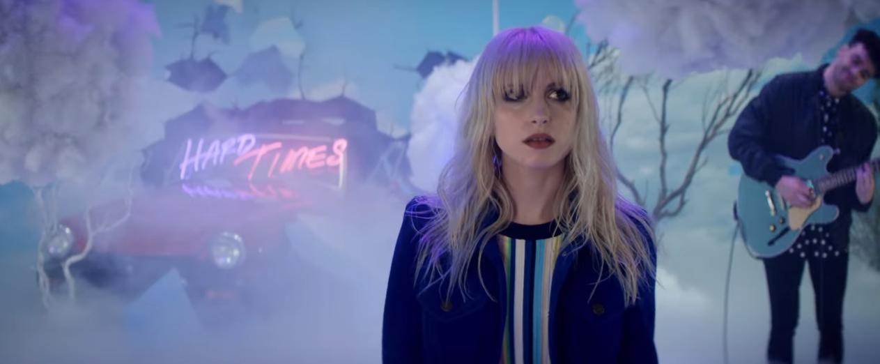 """Paramore's """"Hard Times"""" Debuts At #31 On Alternative Radio"""