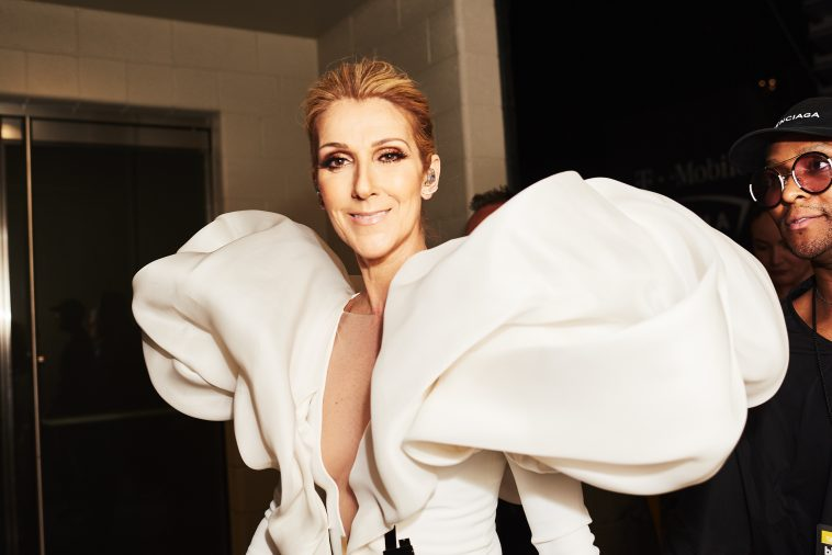 Celine Dion Celebs Flock to Kiss the Ring