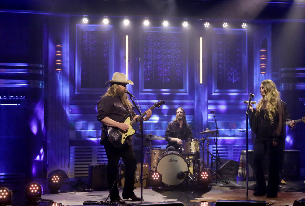 Watch Chris Stapleton and Kevin Bacon Reimagine ZZ Top's 'Legs' on 'Fallon'