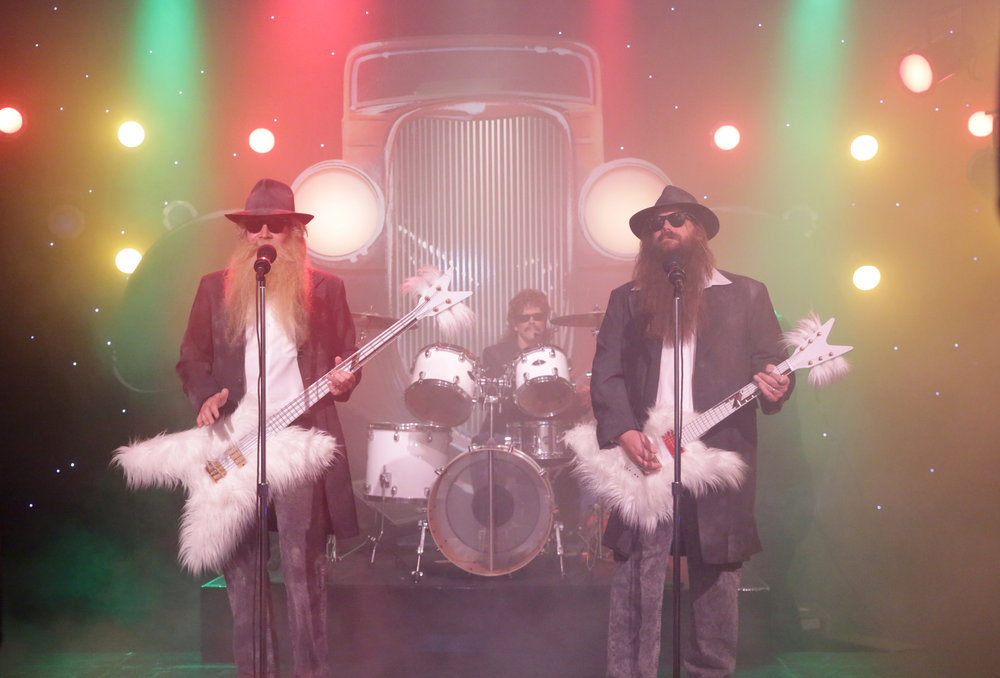 Chris Stapleton, Kevin Bacon, Jimmy Fallon Perform ZZ Top Parody