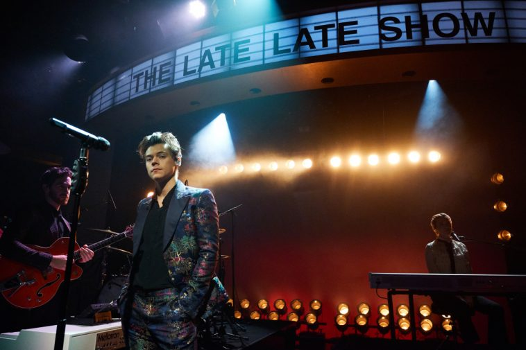 Harry Styles Does A Monologue On 'Late Late Show' And It's Something