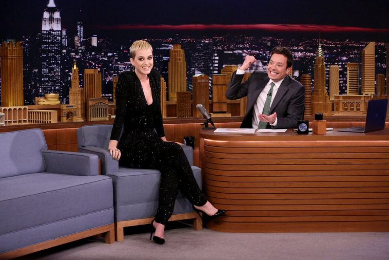 Katy Perry talks 'Swish Swish' on The Tonight Show with Jimmy Fallon