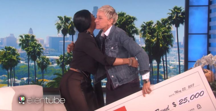 Watch Nicki Minaj Respond To Nas Dating Rumors On Ellen