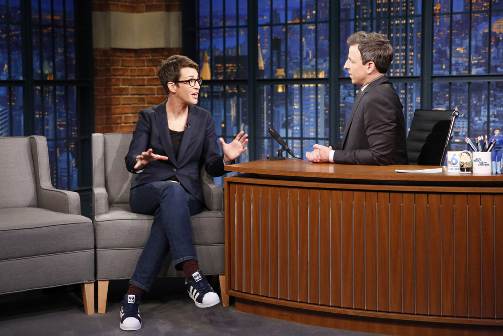 Rachel Maddow Is 'Comforted' By Donald Trump's 'Incompetence'
