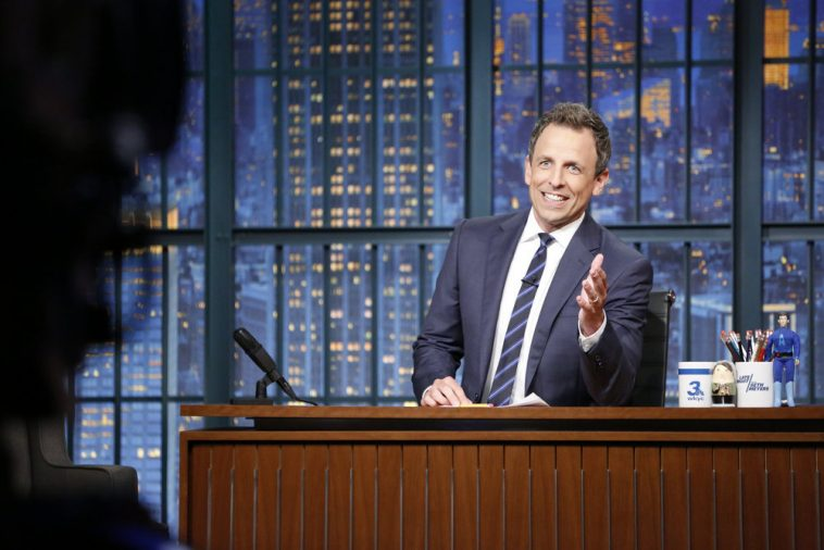 Seth Meyers: 'Trump is worse than Nixon'