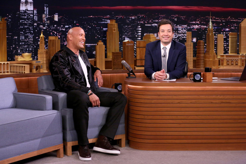Dwayne Johnson Addresses Rumors That He'll Run for President on TONIGHT SHOW