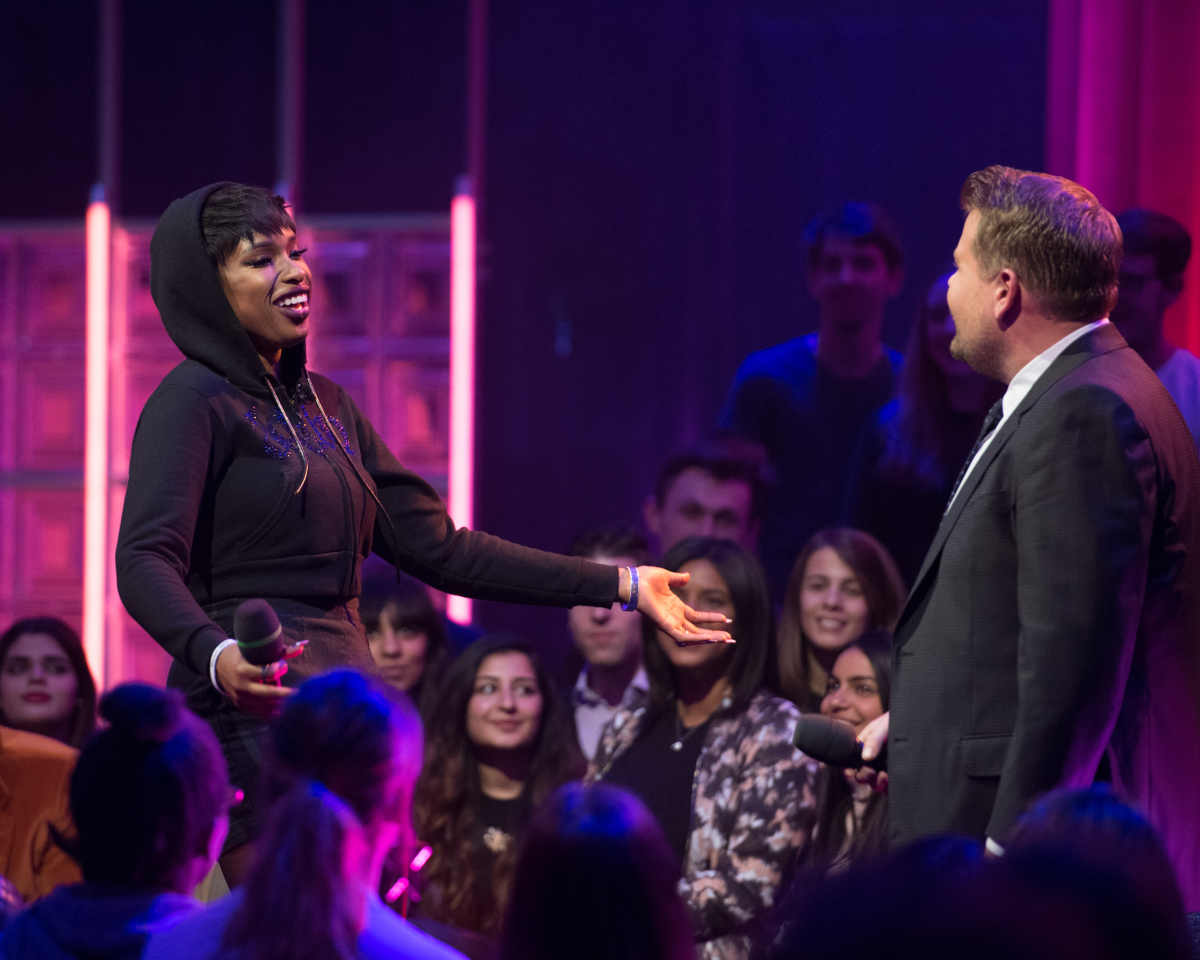 Jennifer Hudson is savage AF in this rap battle with James Corden