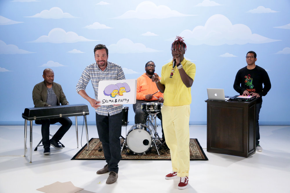 Lil Yachty Spits 'Simpsons' Rap on 'Tonight Show' and It's wonderful