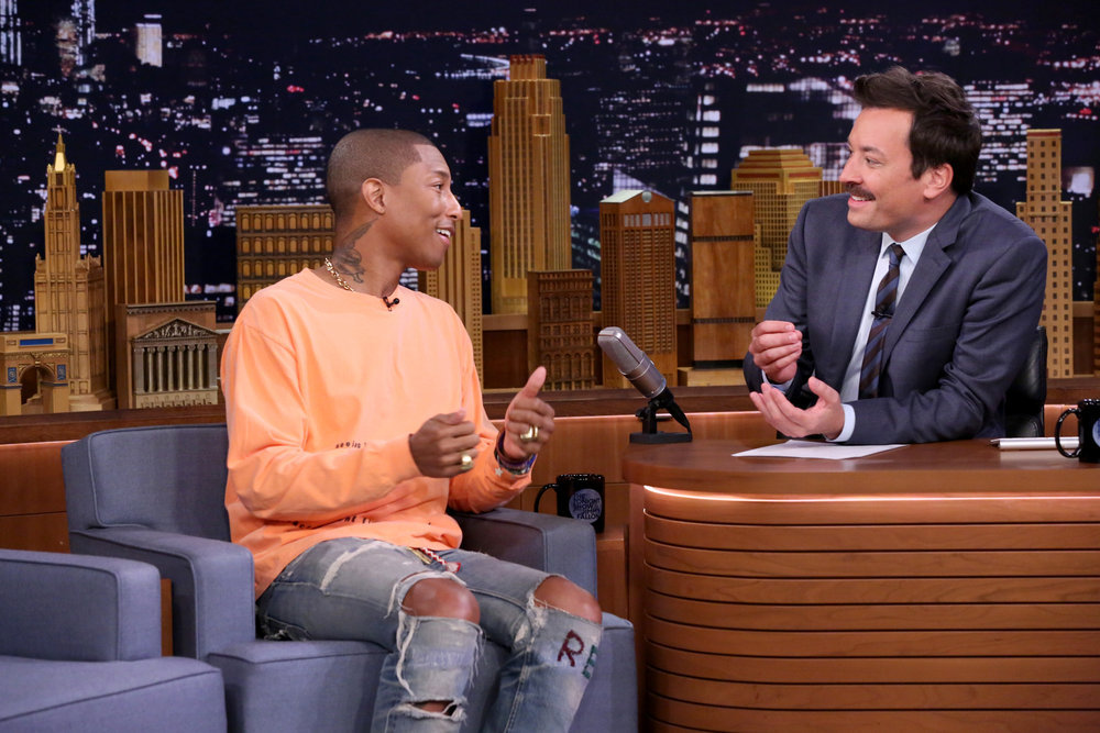 Pharrell Williams Praises His Wife & Gives Us All the Feels!