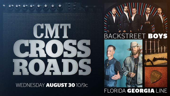 Florida Georgia Line and Backstreet Boys Unite for CMT Crossroads
