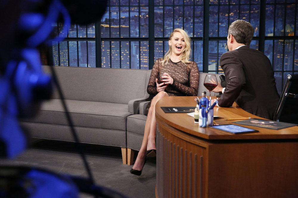 Jennifer Lawrence Soaked a Man with Beer in a Bar Fight