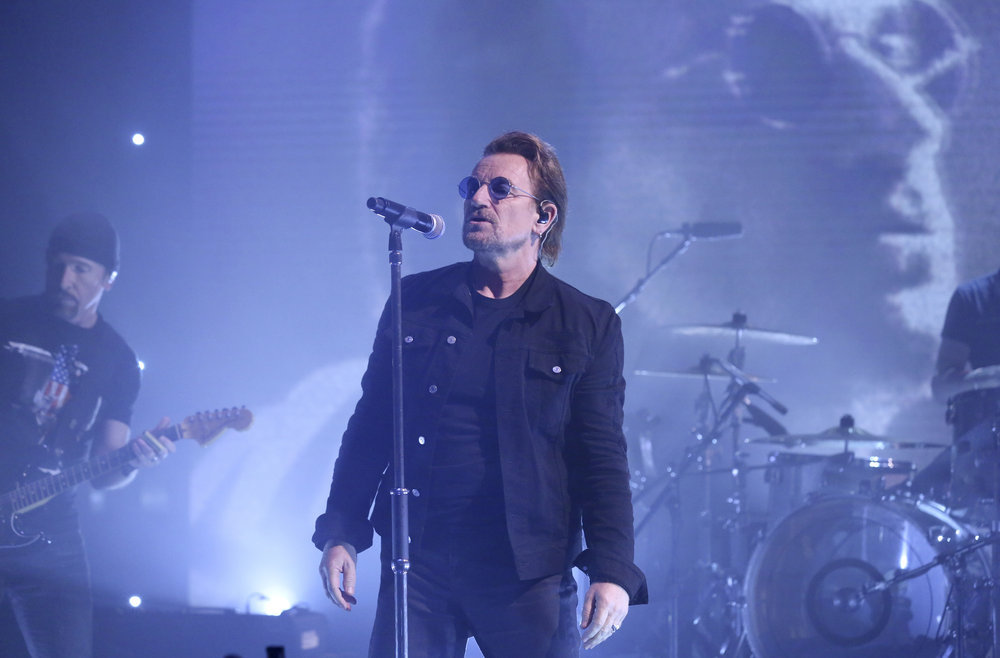 U2 Perform New Song 'You're The Best Thing About Me' on 'Fallon'