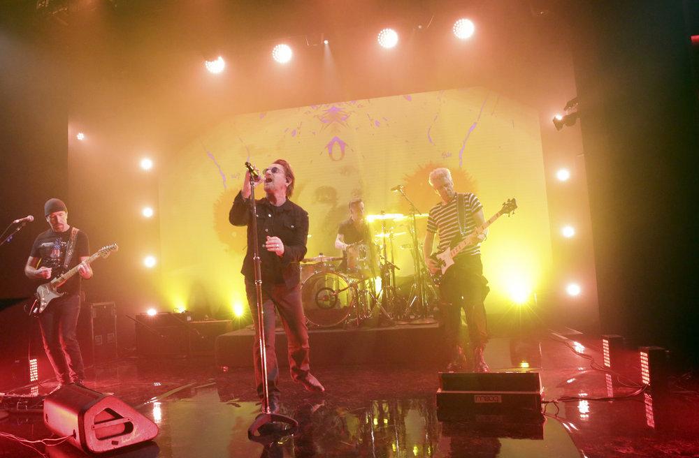 U2 debuts
