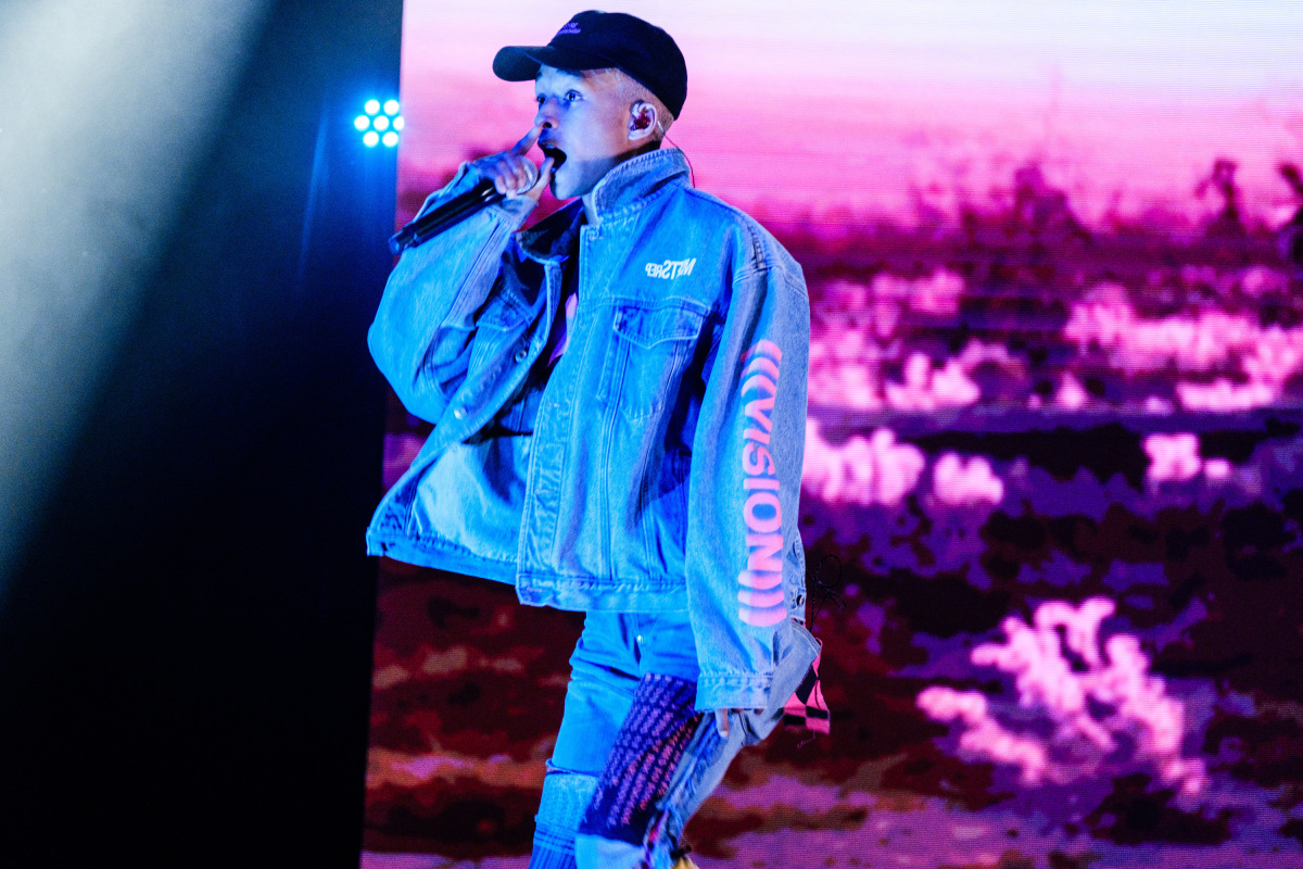 Jaden Smith Performs 'Watch Me' on 'The Late Late Show'