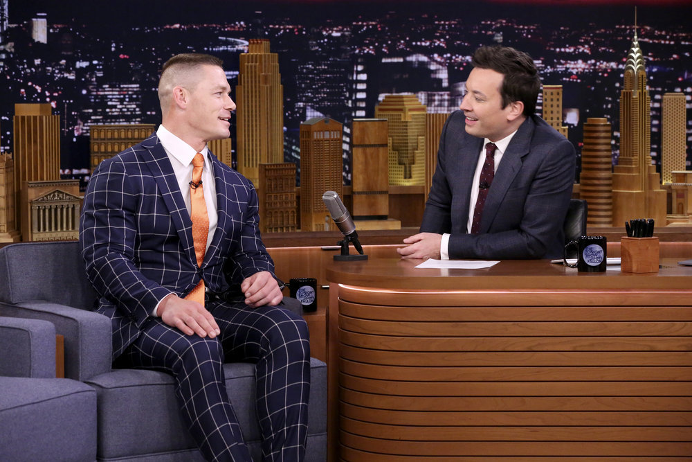 John Cena and Jimmy Fallon Say