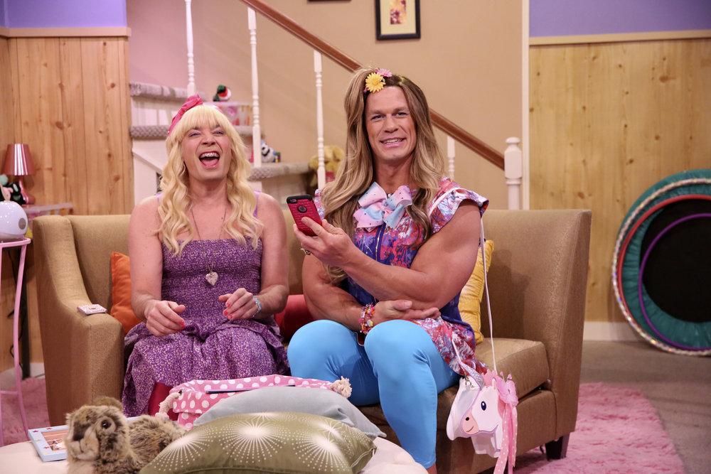 'Ew!' returns to The Tonight Show Starring Jimmy Fallon with John Cena