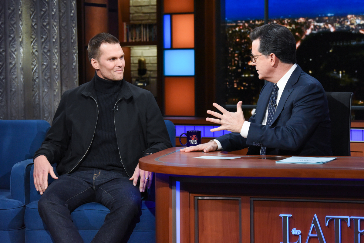 Tom Brady Is Really Good at Chugging Beer