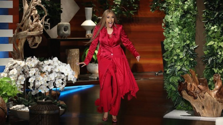 Cardi B Talks Pregnancy Cravings and Baby Names on 'Ellen'