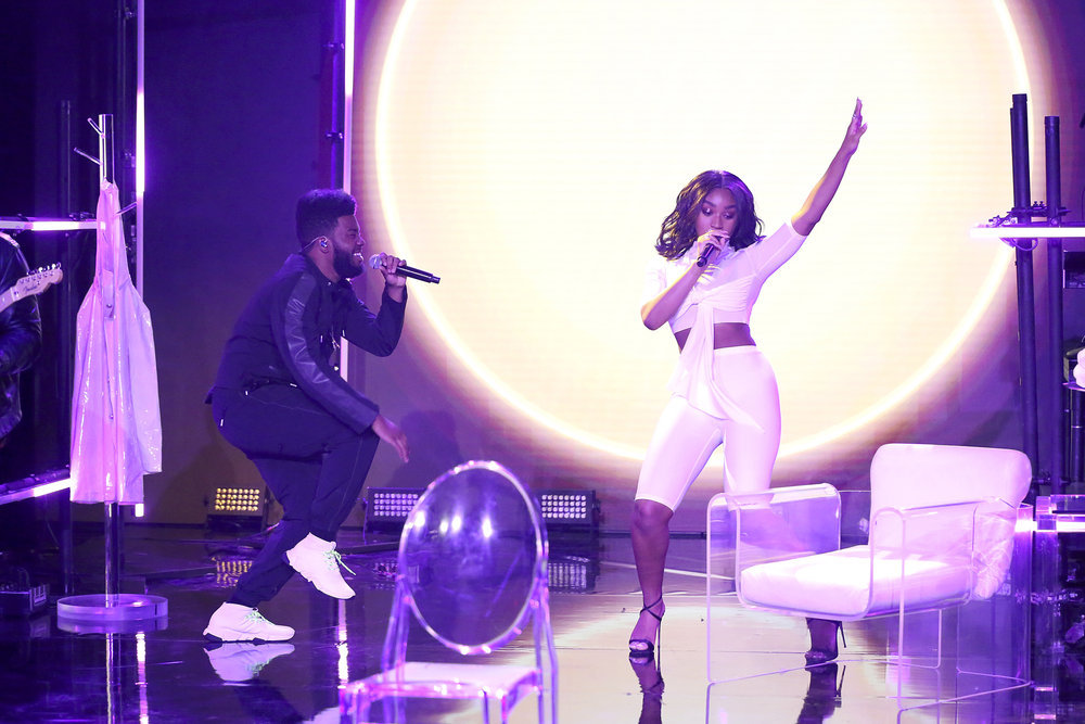 "Khalid & Normani Performed ""Love Lies"" On ""The Tonight"
