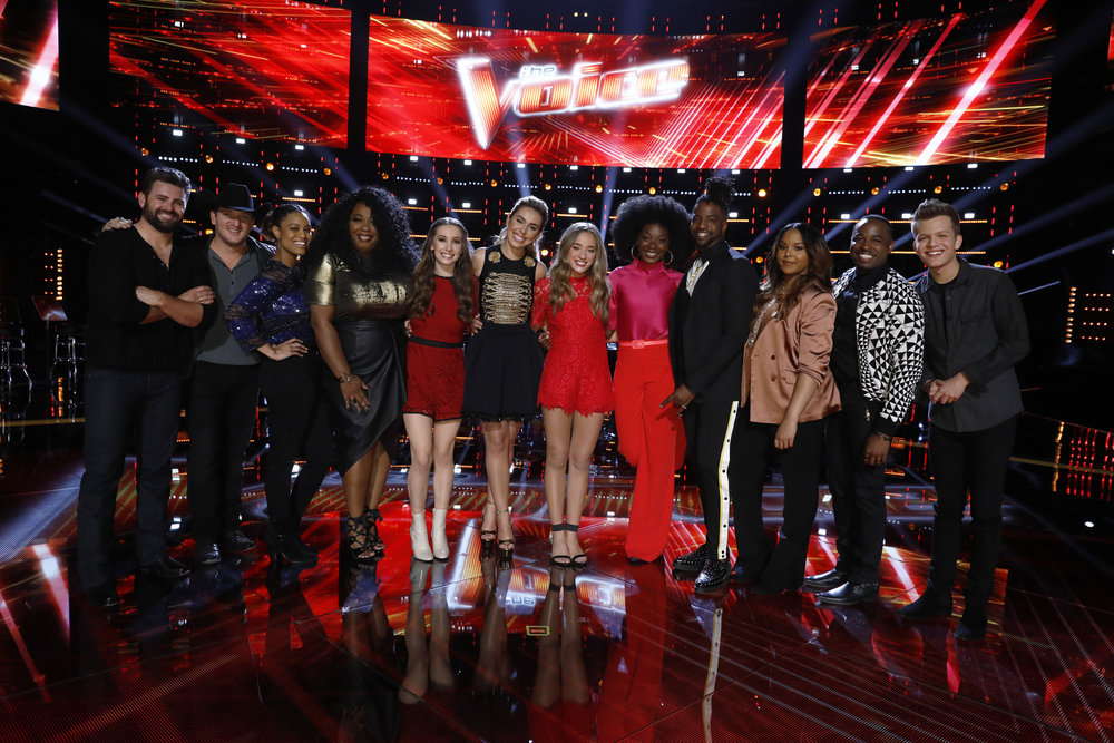 """""""The Voice"""" Reveals Final 3 Contestants For Teams Blake, Kelly, Alicia, Adam"""