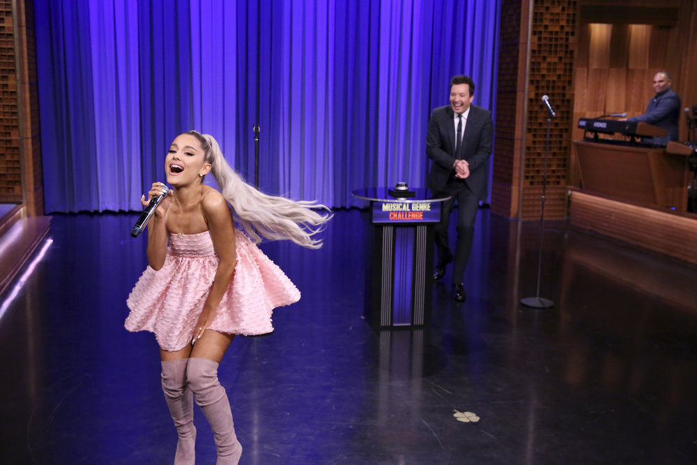 Ariana Grande Appears As Whole-Show Guest On Jimmy Fallon ...