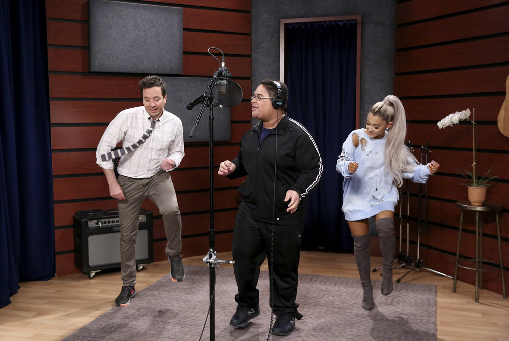 Ariana Grande takes over 'The Tonight Show,' announces new album title