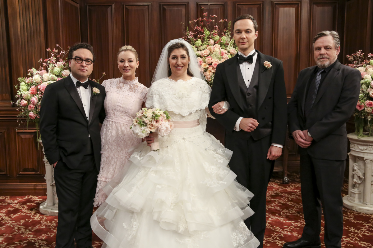 Sheldon & Amy Got Married In Big Bang Theory Season