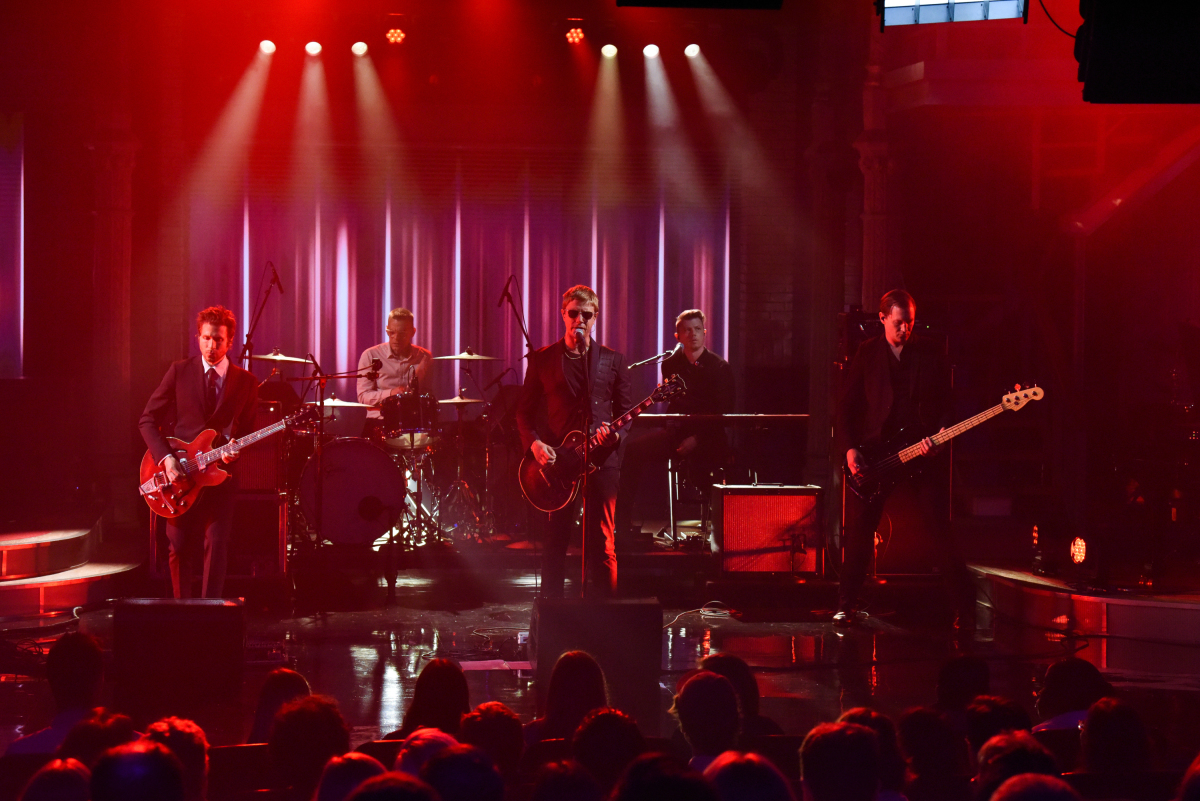 """First Look: Interpol Performs On """"The Late Show With"""