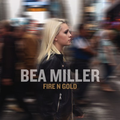 """Fire N Gold"" art - (Hollywood Records) via AllAccess"