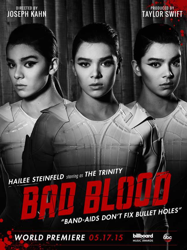 Hailee Steinfeld as The Trinity in Bad Blood