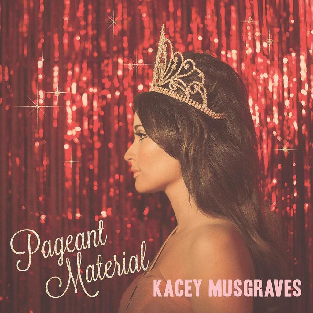 Kacey Musgraves' Pageant Material Cover (via @sandboxent)