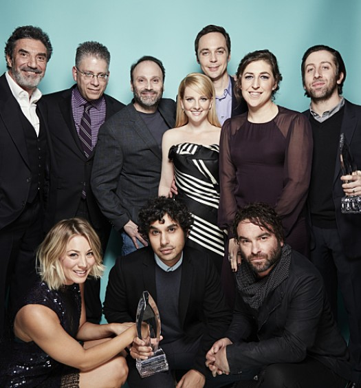 TBBT at 2016 Peoples Choice [CBS]