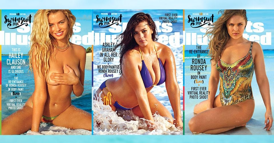 Swimsuit 2016 Covers [via SI.com]