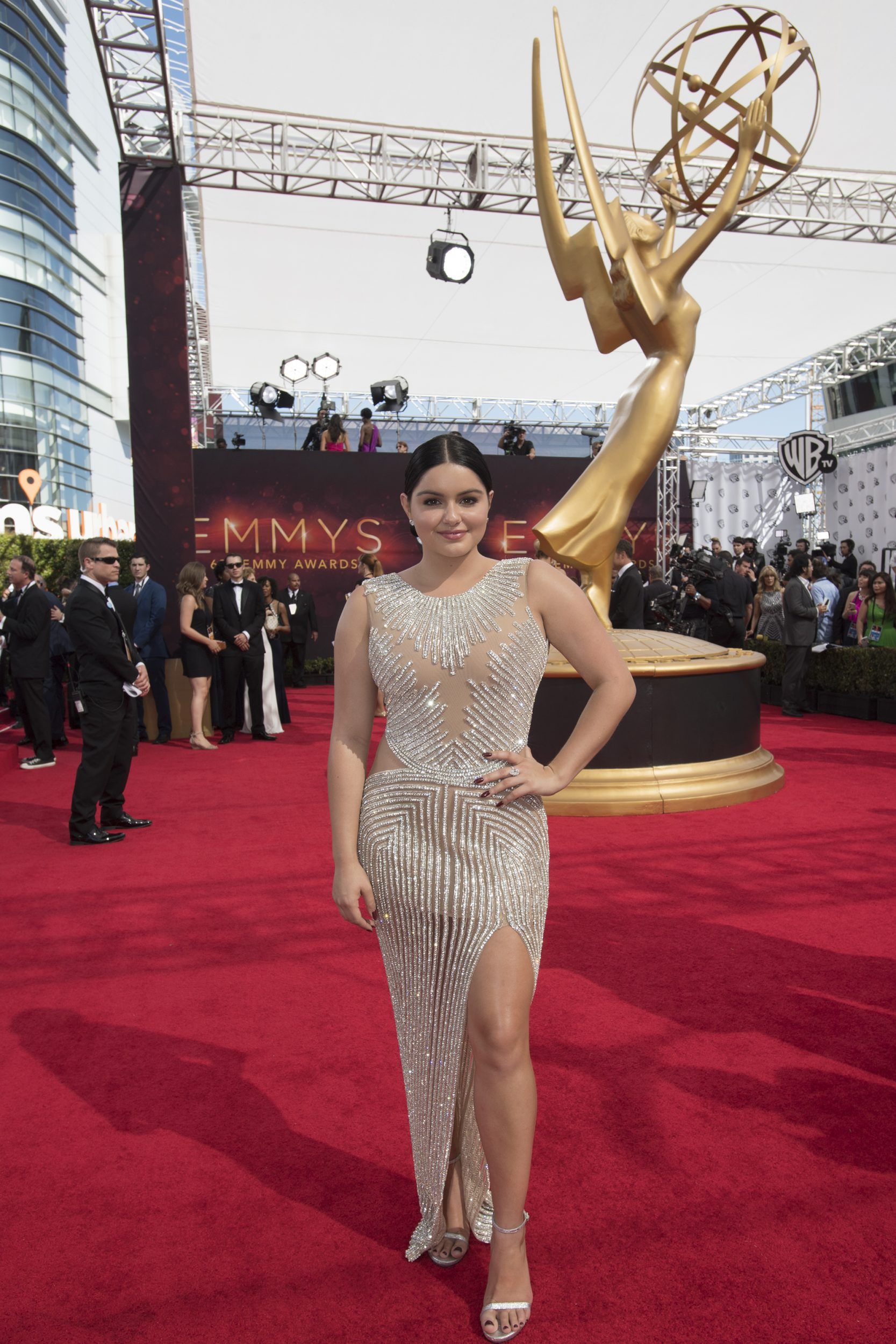 """THE 68TH EMMY(r) AWARDS - """"The 68th Emmy Awards"""" broadcasts live from The Microsoft Theater in Los Angeles, Sunday, September 18 (7:00-11:00 p.m. EDT/4:00-8:00 p.m. PDT), on ABC and is hosted by Jimmy Kimmel. (ABC/Image Group LA) ARIEL WINTER"""
