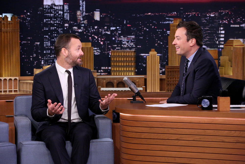 THE TONIGHT SHOW STARRING JIMMY FALLON -- Episode 0540 -- Pictured: (l-r) Actor Will Forte during an interview with host Jimmy Fallon on September 23, 2016 -- (Photo by: Andrew Lipovsky/NBC)