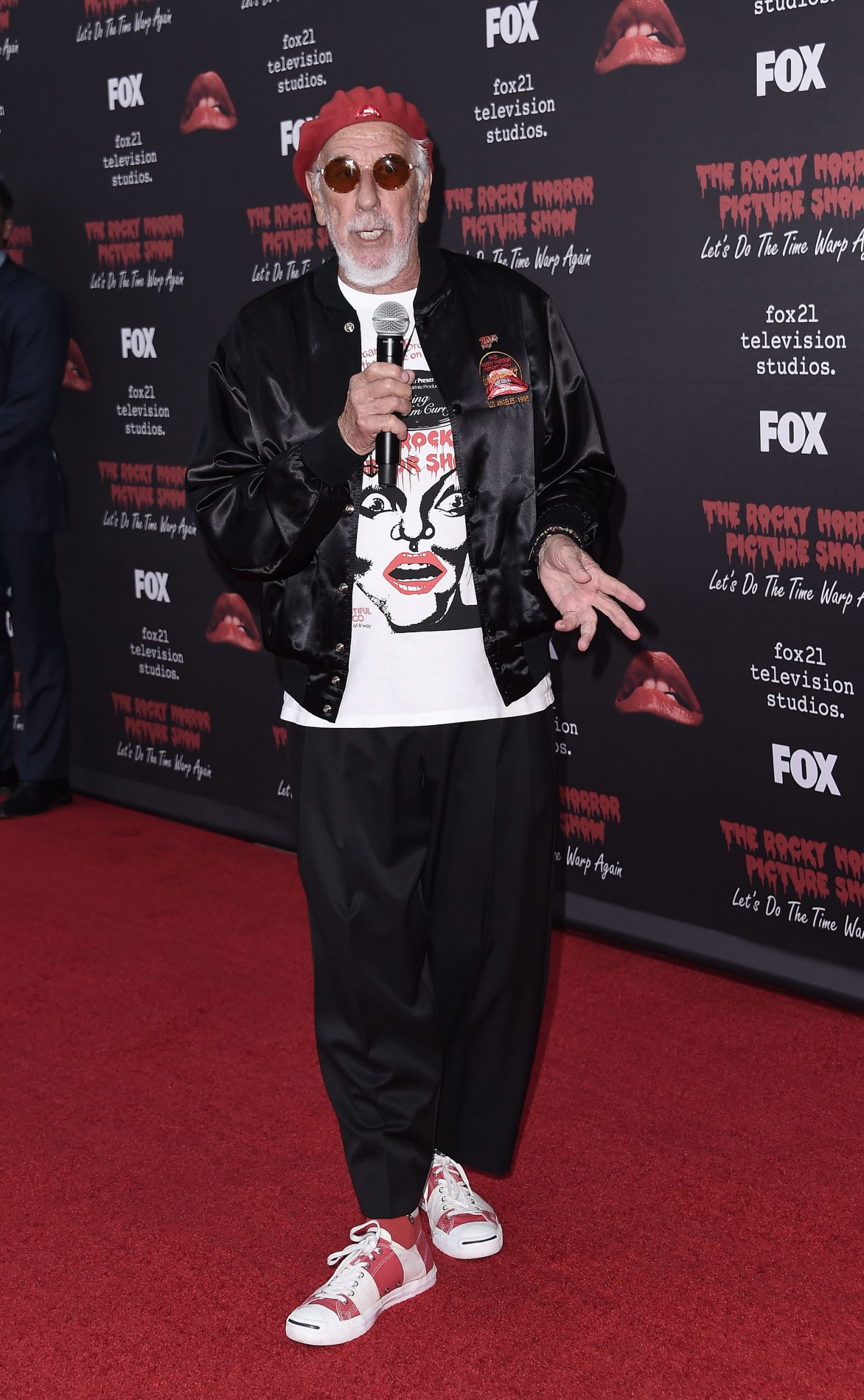 THE ROCKY HORROR PICTURE SHOW: Let's Do The Time Warp Again (and Transylvanians!): Executive Producer Lou Adler arrives at THE ROCKY HORROR PICTURE SHOW: Let's Do The Time Warp Again (and Transylvanians!) premiere party red carpet at The Roxy on Thursday, Oct. 13, in Los Angeles, CA. THE ROCKY HORROR PICTURE SHOW: Let's Do The Time Warp Again (And Transylvanians!) premieres Thursday, Oct. 20 (8:00-10:00 PM ET/PT) on FOX. © 2016 FOX BROADCASTING CR: Scott Kirkland/FOX