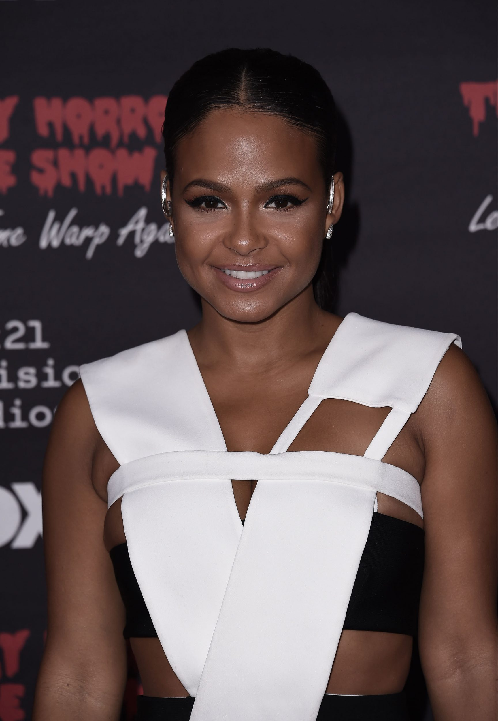 THE ROCKY HORROR PICTURE SHOW: Let's Do The Time Warp Again (and Transylvanians!): Cast member Christina Milian arrives at THE ROCKY HORROR PICTURE SHOW: Let's Do The Time Warp Again (and Transylvanians!) premiere party red carpet at The Roxy on Thursday, Oct. 13, in Los Angeles, CA. THE ROCKY HORROR PICTURE SHOW: Let's Do The Time Warp Again (And Transylvanians!) premieres Thursday, Oct. 20 (8:00-10:00 PM ET/PT) on FOX. © 2016 FOX BROADCASTING CR: Scott Kirkland/FOX