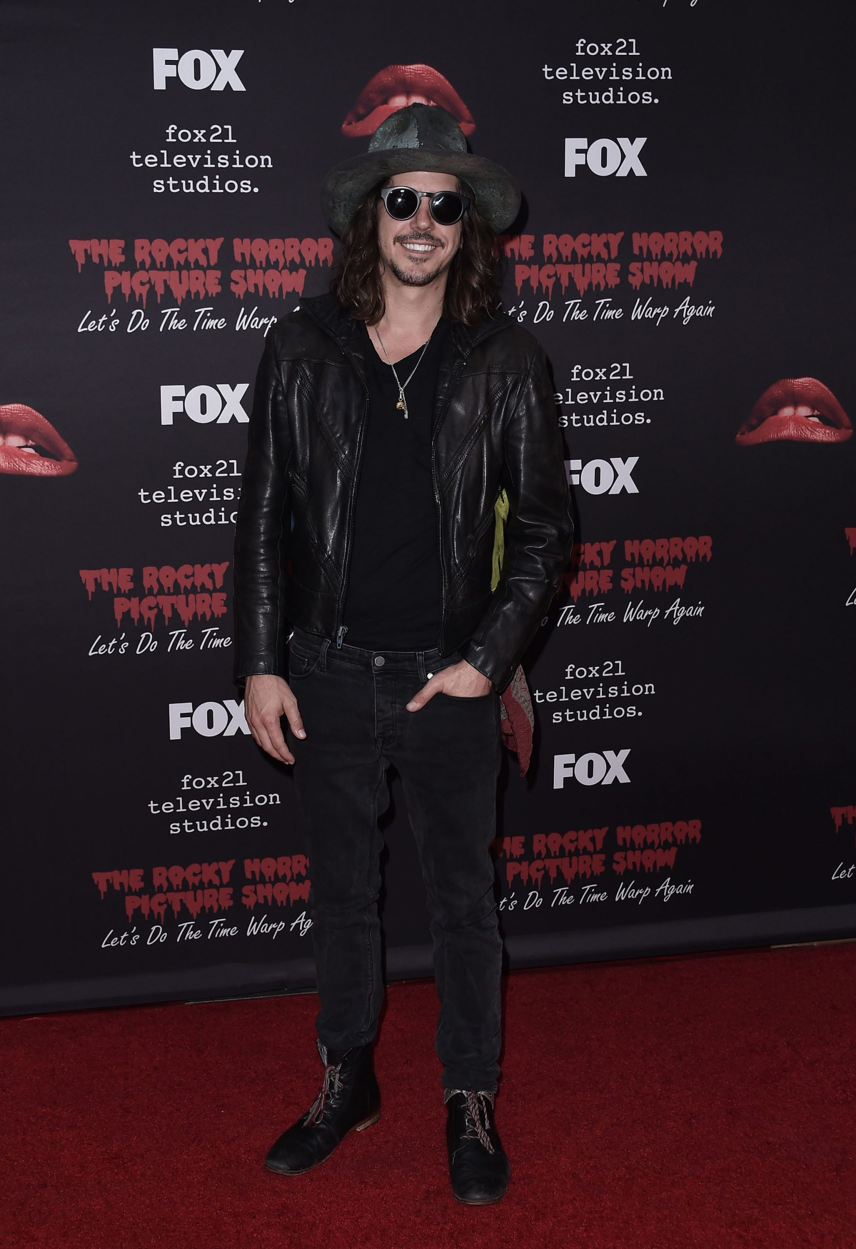 THE ROCKY HORROR PICTURE SHOW: Let's Do The Time Warp Again (and Transylvanians!): Music Producer Cisco Adler arrives at THE ROCKY HORROR PICTURE SHOW: Let's Do The Time Warp Again (and Transylvanians!) premiere party red carpet at The Roxy on Thursday, Oct. 13, in Los Angeles, CA. THE ROCKY HORROR PICTURE SHOW: Let's Do The Time Warp Again (And Transylvanians!) premieres Thursday, Oct. 20 (8:00-10:00 PM ET/PT) on FOX. © 2016 FOX BROADCASTING CR: Scott Kirkland/FOX