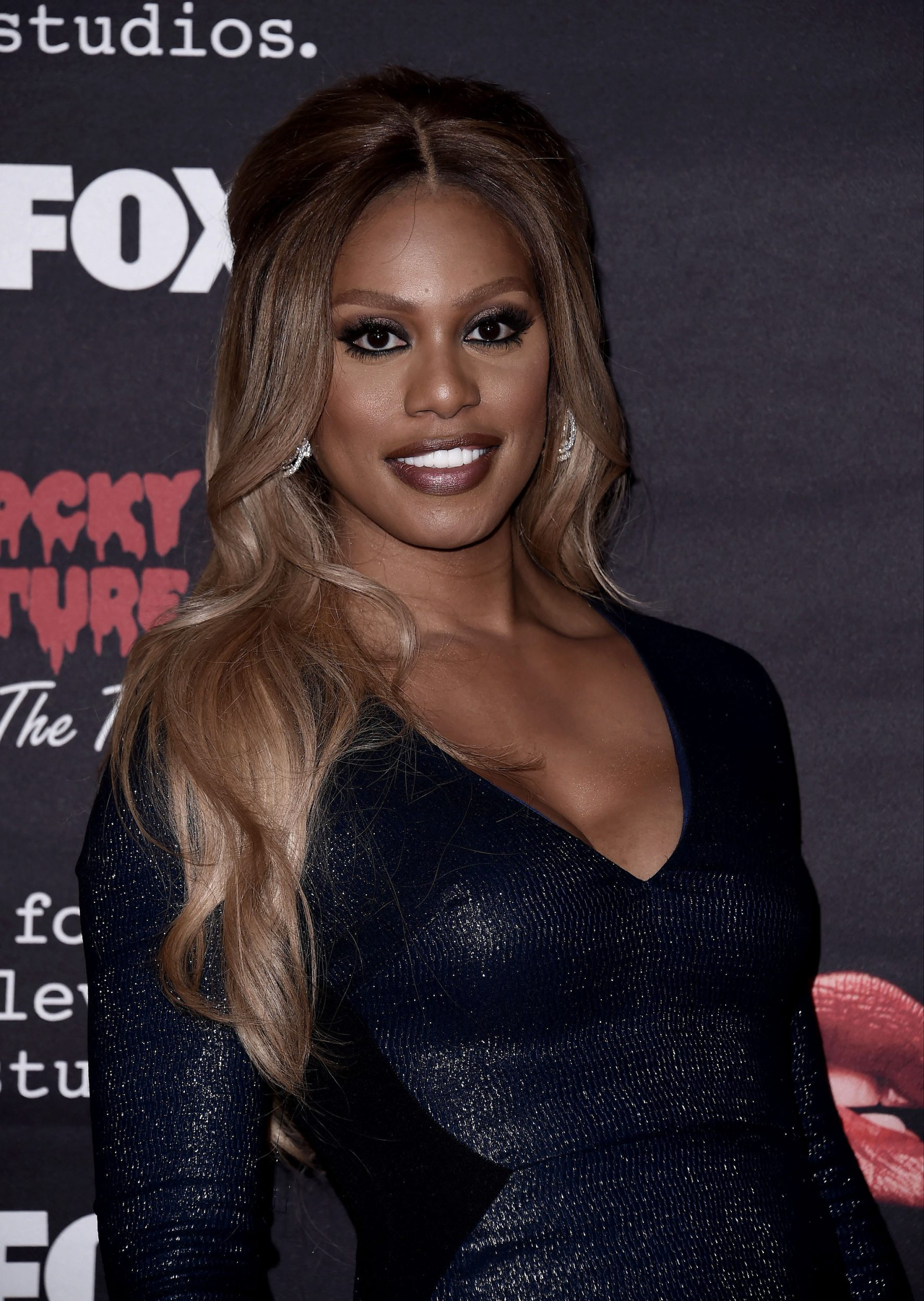 THE ROCKY HORROR PICTURE SHOW: Let's Do The Time Warp Again (and Transylvanians!): Cast member Laverne Cox arrives at THE ROCKY HORROR PICTURE SHOW: Let's Do The Time Warp Again (and Transylvanians!) premiere party red carpet at The Roxy on Thursday, Oct. 13, in Los Angeles, CA. THE ROCKY HORROR PICTURE SHOW: Let's Do The Time Warp Again (And Transylvanians!) premieres Thursday, Oct. 20 (8:00-10:00 PM ET/PT) on FOX. © 2016 FOX BROADCASTING CR: Scott Kirkland/FOX