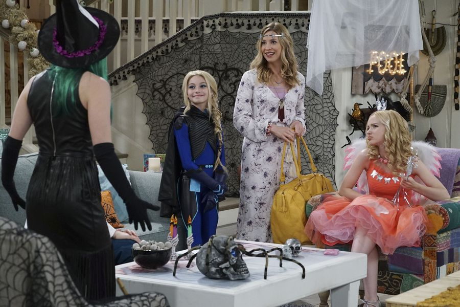 "LIV AND MADDIE: CALI STYLE – ""Scare-A-Rooney"" – Liv takes Ruby to a spooky dinner and runs into an old acquaintance and Maddie comes face to face with the real-life 'spider-sprayer. Meanwhile, Parker and Joey must convince their classmates to celebrate Halloween. This episode of ""Liv and Maddie: Cali Style"" airs FRIDAY, OCTOBER 14 (8:00 P.M. EDT) on Disney Channel. (Disney Channel/Eric McCandless) LAUREN LINDSEY DONZIS, JOLIE JENKINS, DOVE CAMERON"