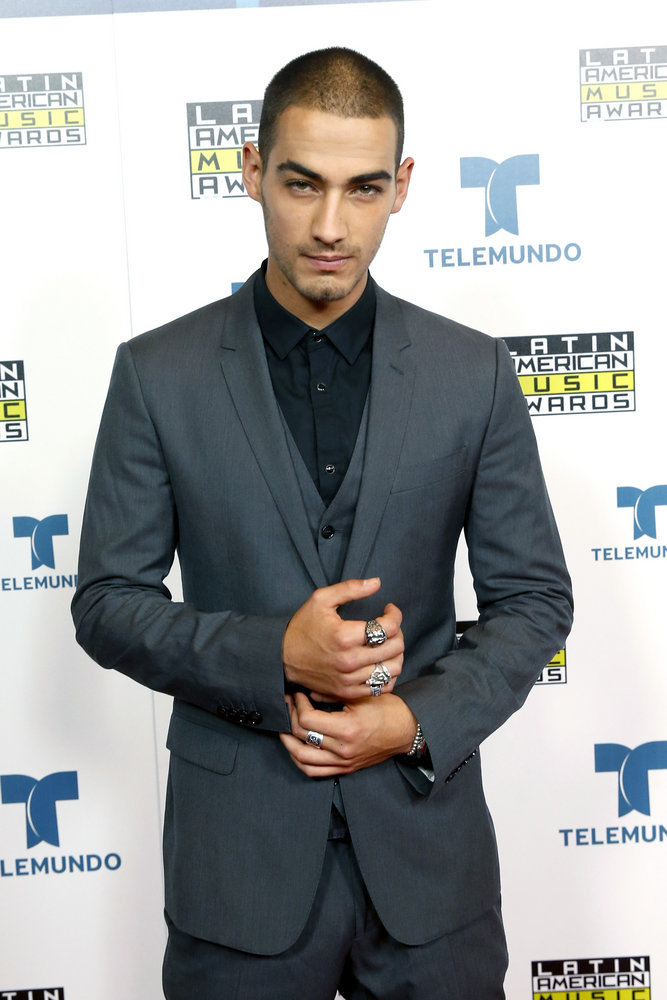 """2016 LATIN AMERICAN MUSIC AWARDS -- """"Press Room"""" -- Pictured: Recording artist Michel Duval poses backstage at the 2016 Latin American Music Awards at the Dolby Theater in Los Angeles, CA on October 6, 2016 -- (Photo by: Jesse Grant/Telemundo)"""