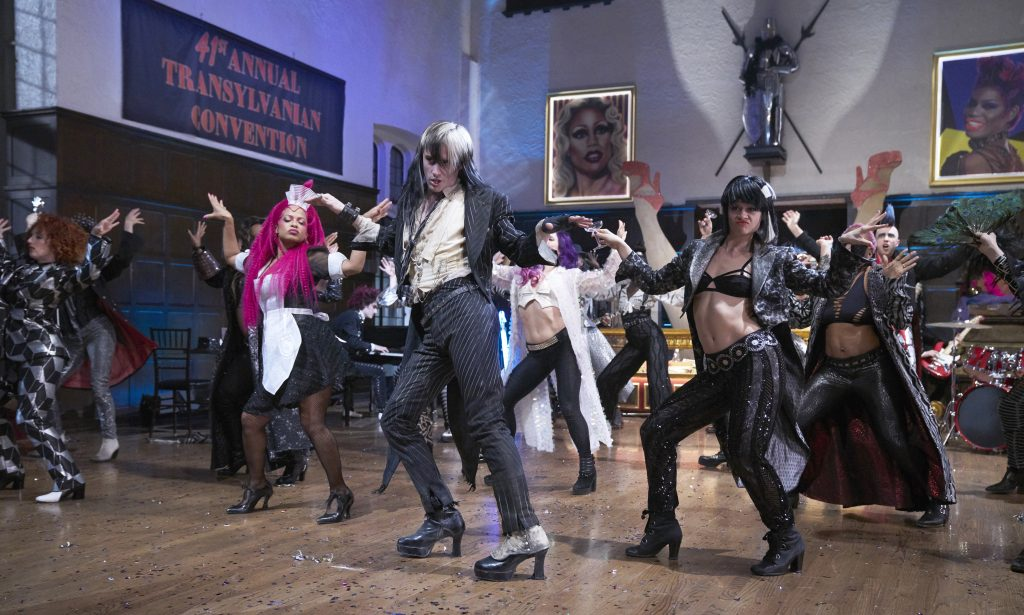 THE ROCKY HORROR PICTURE SHOW: LET'S DO THE TIME WARP AGAIN:  Christina Milian (L) and Reve Carney (C) in THE ROCKY HORROR PICTURE SHOW: LET'S DO THE TIME WARP AGAIN: Premiering Thursday, Oct. 20 (8:00-10:00 PM ET/PT) on FOX. ©2016 Fox Broadcasting Co. Cr: Steve Wilkie/FOX