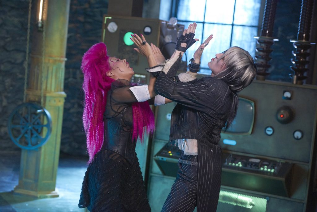 THE ROCKY HORROR PICTURE SHOW: LET'S DO THE TIME WARP AGAIN:  L-R:  Christina Milian and Reeve Carney in THE ROCKY HORROR PICTURE SHOW: LET'S DO THE TIME WARP AGAIN: Premiering Thursday, Oct. 20 (8:00-10:00 PM ET/PT) on FOX. ©2016 Fox Broadcasting Co. Cr: Steve Wilkie/FOX