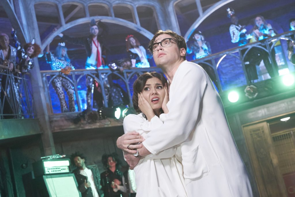 THE ROCKY HORROR PICTURE SHOW: LET'S DO THE TIME WARP AGAIN:  L-R:  Victoria Justice and Ryan McCartan in THE ROCKY HORROR PICTURE SHOW: LET'S DO THE TIME WARP AGAIN: Premiering Thursday, Oct. 20 (8:00-10:00 PM ET/PT) on FOX. ©2016 Fox Broadcasting Co. Cr: Steve Wilkie/FOX