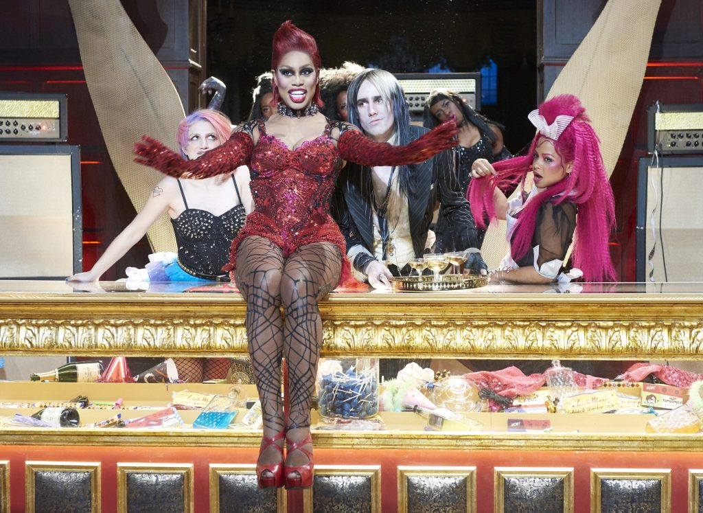 THE ROCKY HORROR PICTURE SHOW:  LET'S DO THE TIME WARP AGAIN:  L-R:  Annaleigh Ashford, Laverne Cox, Reeve Carney and Christina Milian in THE ROCKY HORROR PICTURE SHOW: LET'S DO THE TIME WARP AGAIN: Premiering Thursday, Oct. 20 (8:00-10:00 PM ET/PT) on FOX. ©2016 Fox Broadcasting Co. Cr: Steve Wilkie/FOX