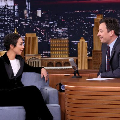 THE TONIGHT SHOW STARRING JIMMY FALLON -- Episode 0559 -- Pictured: (l-r) Actress Ruth Negga during an interview with host Jimmy Fallon on October 27, 2016 -- (Photo by: Andrew Lipovsky/NBC)